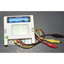 Medidor de ESR MG328, nuevo version con caja, 12864 LCD , comprobador multicomponentes