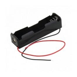 Porta pila con cable para 1 x 14500 batería de li ion