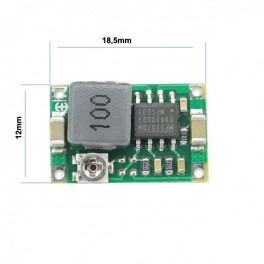 Micro DC-DC Ajustable Step Down regulador Voltaje 4.5V - 23V a 1V - 21V