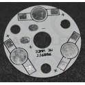 PCB de aluminio para 3 LEDs 1W-3W