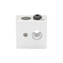 Bloque de Aluminio para Calefactor impresora 3d printer, Rep Rap, Prusa