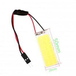 LED COB de panel 36 SMD no tiene polaridad se puede utilizar con 12v y de 24v