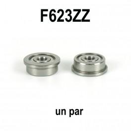 Un par de rodamientos F623ZZ para tensores de correa.
