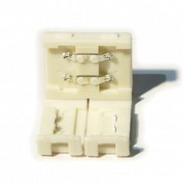 Unión / Conector rígido necesario para unir dos tramos de tira de led monocolor , 8MM