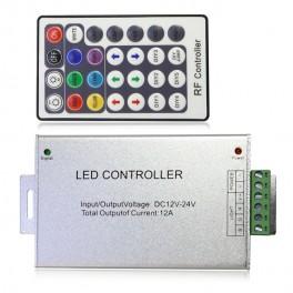 Controlador RGB RF con mando a distancia 28 botones.