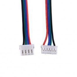 Cable con conectores Para Motor A Pasos Nema 17 longitud 1m