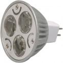 Bombilla LED MR16 (dicroicas),También conocidas como ojo de (BUEY),