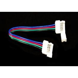 Conectores de 4pin 10mm para tira RGB con cable 14cm (5050)
