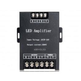 Amplificador para tiras RGB 3528 y 5050 de 30A